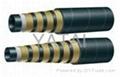 四層六層鋼絲纏繞高壓膠管4SP