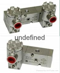 Exd II CT6管板通用不锈钢隔爆电磁阀