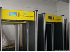 Security Door Walk Through Metal Bomb Detector Walk Pass Security Door