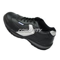 Nubuck leather safety shoes