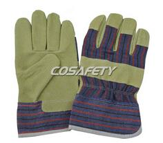 Pig Grain Leather Gloves