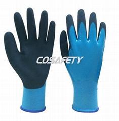 Latex Foam Dipped Gloves