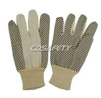 PVC Polka Dots Cotton Gloves