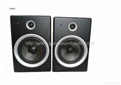DJD8 8-inch active studio monitor speakers