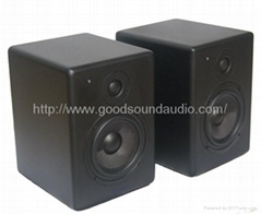 录音棚DJA6 6.5寸有源监听音箱