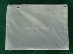 130GSM PVC Fireproof Mesh Sheet