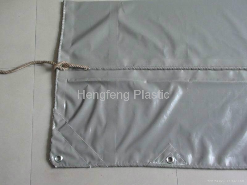 Canvas PVC Waterproof Covers for Boat and Goods 4
