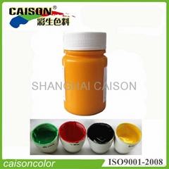 Pigment paste for tinting super lightweight clay