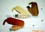 Wooden spining usb