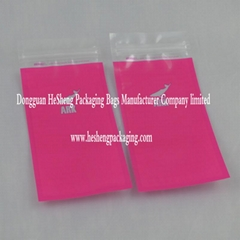 coextruded reclosable zipper lock bag