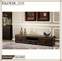 Top Sale OEM ODM Wooden TV Cabinet Home Office