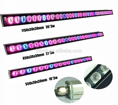 54w/81w/108w Led Grow Light Bar 3w IR Light Red Blue Lamp Waterproof Tube Strip