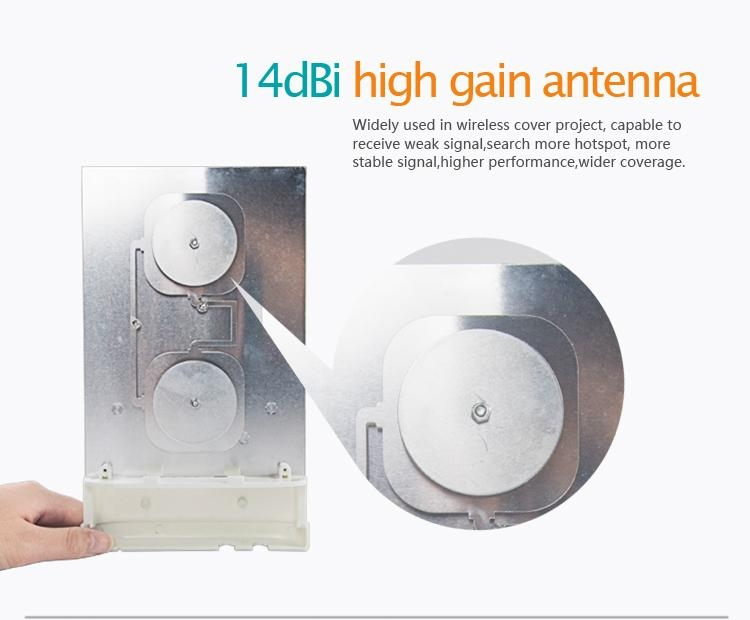 Outdoor 150Mbps 2.4GHz Long range wireless CPE 3
