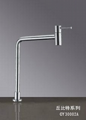 SUS 304 S/S stainless steel Cold water kitchen tap faucet