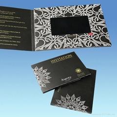 "4.3"" customised video greeting card / brochure"