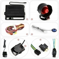 12V universal car alarm system with central lock 2