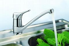 brass kitchen faucet (G83002)