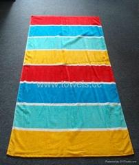 Hawaii Stipe Beach Towel