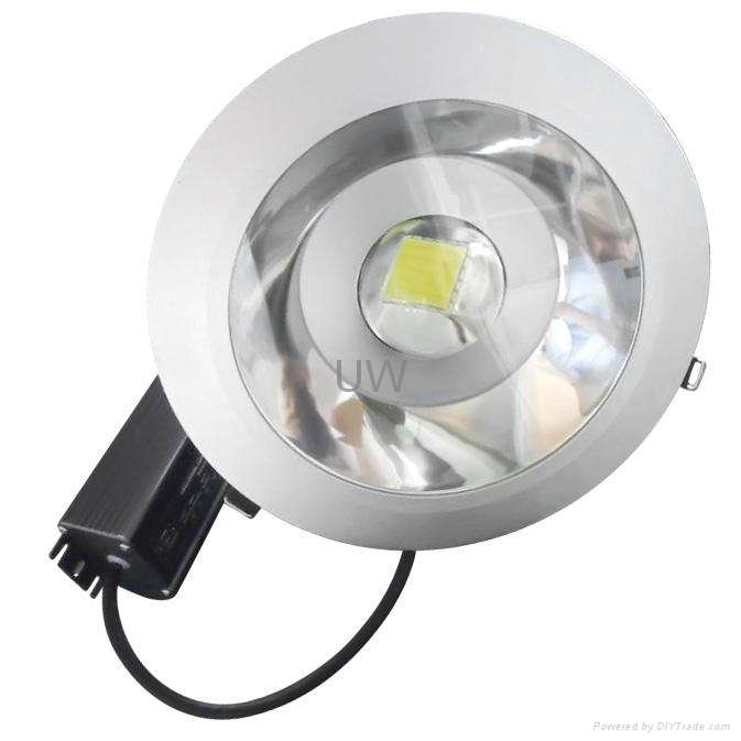 High Power Downlight 50W with Meanwell Driver and Bridgelux Chip