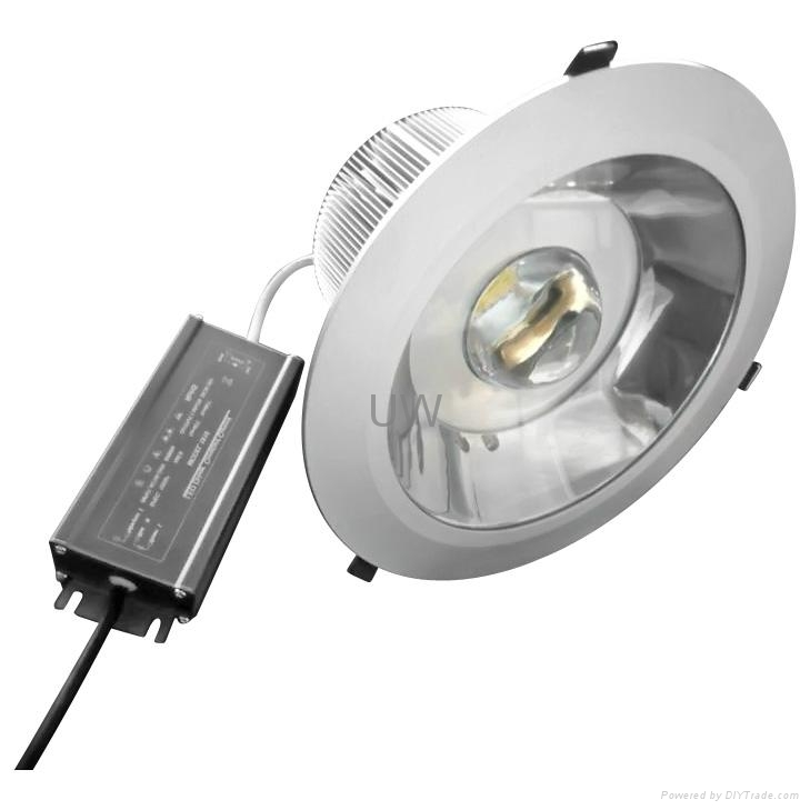 High Power Downlight 50W with Meanwell Driver and Bridgelux Chip 2