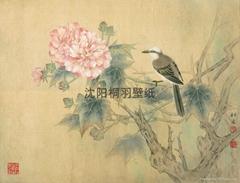 中国风格壁画