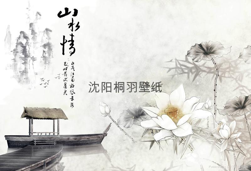 中国风格壁画 5