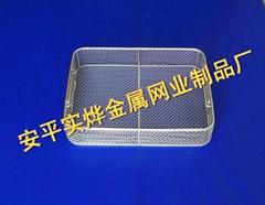 不锈钢网篮清洗控水
