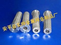 圓柱形籃式過濾芯