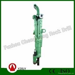 Y20LY air leg rock drill