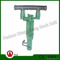 Y12 hand-held rock drill
