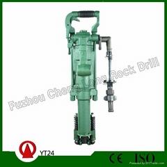 YT24 air-leg rock drill