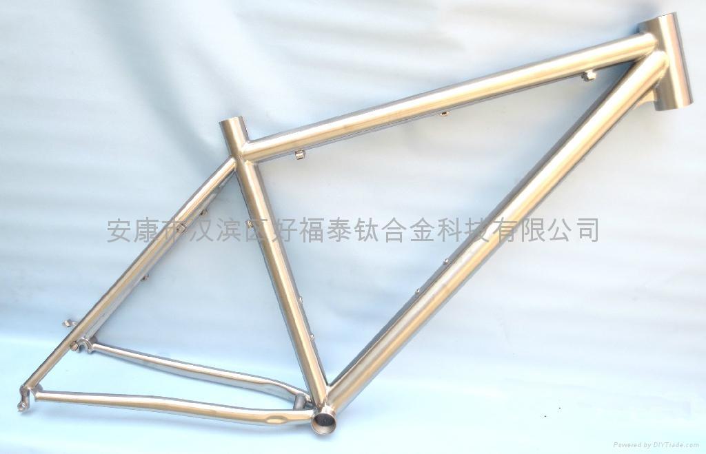 Titanium bike frame-SNOW BIKE FRAME 1