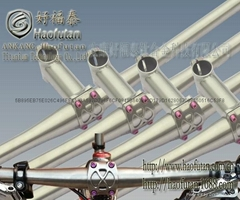 titanium alloy handlebar stem