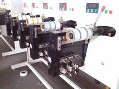 Polyester filament core-