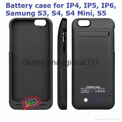 3500mah Backup Battery Case for iphone 6