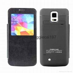 For Samsung Galaxy S5 i9600 Battery Case 4200mAh