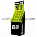 Corrugated Floor Display Stands for