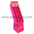 Cardboard Compartment Displays with