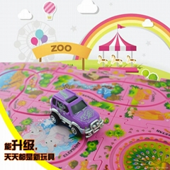 B/O Puzzle Vehicle Toys