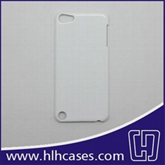 3D sublimation case/cover for iPod Touch 5