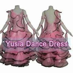 Newest Style White  Women and Girl's ballroom dance dresses