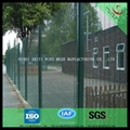 358 security welded wire mesh fence panel factory(ISO 9001) 4
