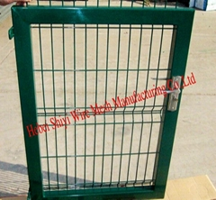 Mesh Fence Gate design and factory