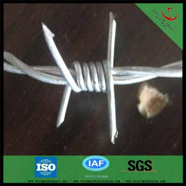 galvanized barbed wire hot sale manufacturer 4