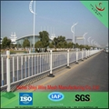 Pvc coated and galvanized garden fence