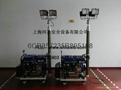 HS-45-4000L型 柴油移動昇降照明燈