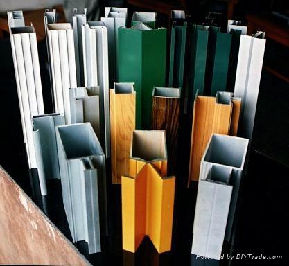 北京150幕牆鋁型材 1