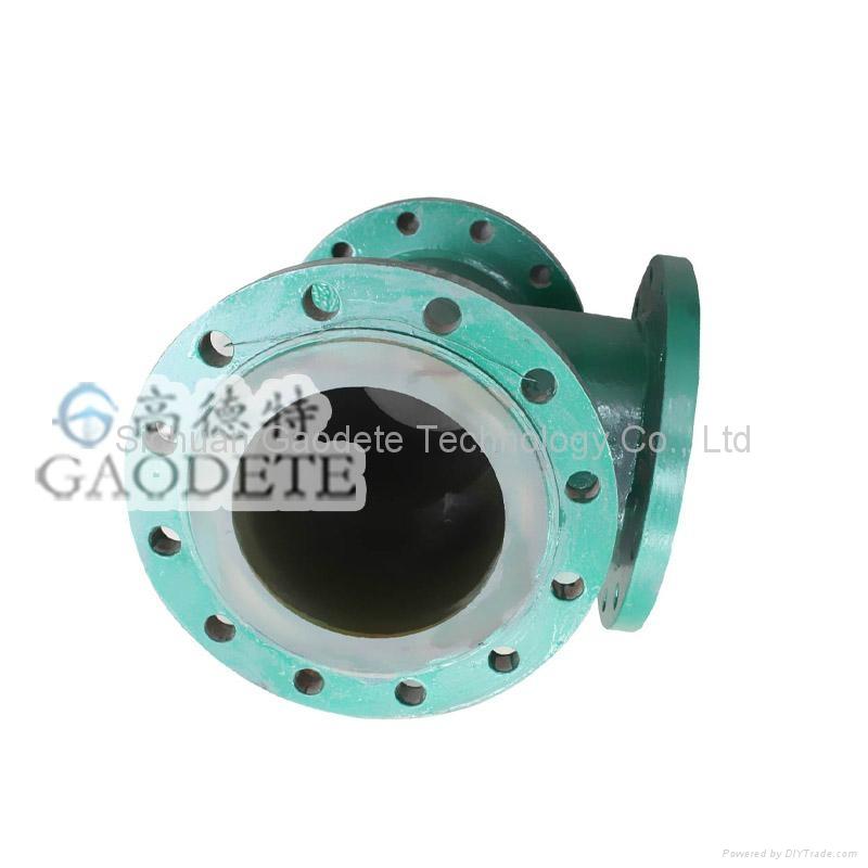 精矿输送钢衬聚氨酯管道 1