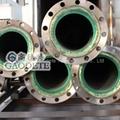 精礦輸送鋼襯聚氨酯管道 2