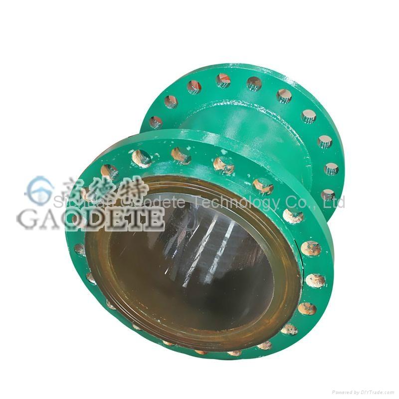 精礦輸送鋼襯聚氨酯管道 5